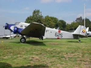 Un Junker 52-3m, primer avión presidencial de Colombia. Imagen tomada del portal oficial del Museo Aeroespacial Colombiano.